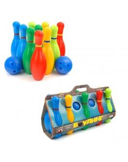 Боулінг для дітей великий 10 кеглів - mlt 1-002