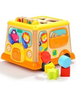 Дерев'яна іграшка Top Bright Машинка-сортер Веселе Левеня - top b 150185