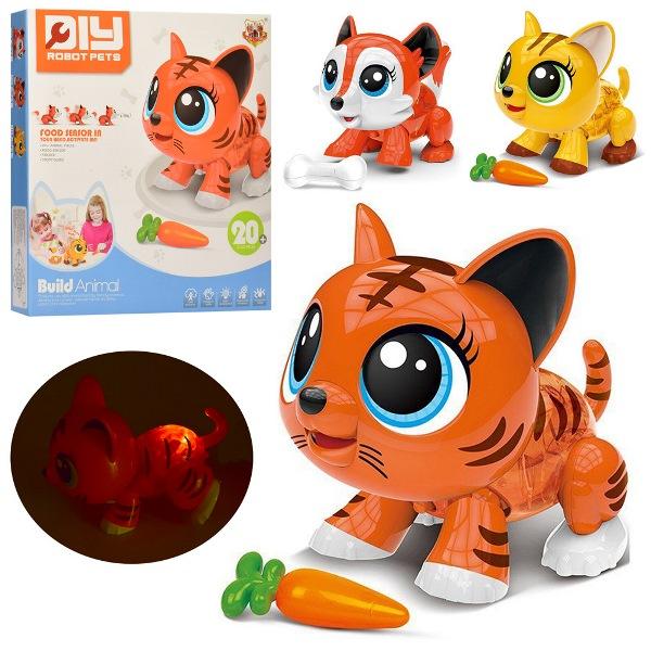 Интерактивная игрушка-конструктор Robot Pets