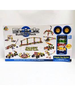Конструктор Stick building block Транспорт 70 деталей і колеса (SY9922) - mpl SY9922