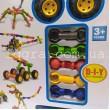 Конструктор шарнірний Stick building block Транспорт 62 деталі (SY9929)