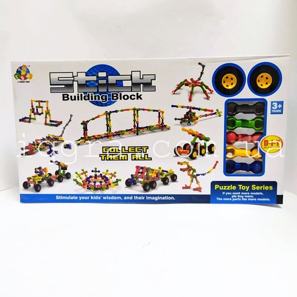 Конструктор Stick building block Транспорт SY9922