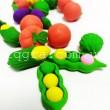 Набір лічильного матеріалу Овочі в банці 60 шт - mlt 603