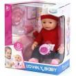 Пупс Baby Born функціональний 8040-490 в червоному светрі і шапочці - igs 8040-490