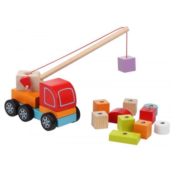 Машинка Авто-кран Cubika 13982