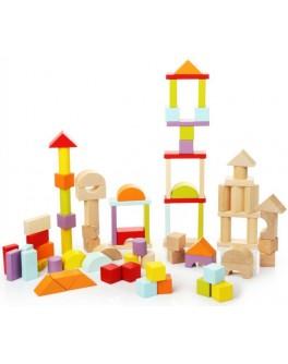 Дерев'яний конструктор Cubika Велике місто (13821) - cub 13821