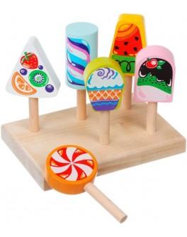 Дерев'яна іграшка Cubika Морозиво (14330) - cub 14330
