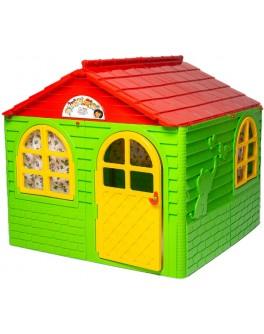 Домик детский игровой со шторками 129х129 см, ТМ Doloni - ves 02550/3