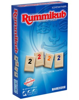 Настільна гра Руммікуб Міні (Rummikub Mini) (укр.) Feelindigo - pi FI9500