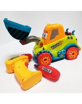 Машина-конструктор Бульдозер з інструментами 661-195 - igs 661-195