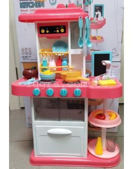 Детская кухня Home Kitchen 889-164 с циркуляцией воды и паром из кастрюлек - igs 889-164