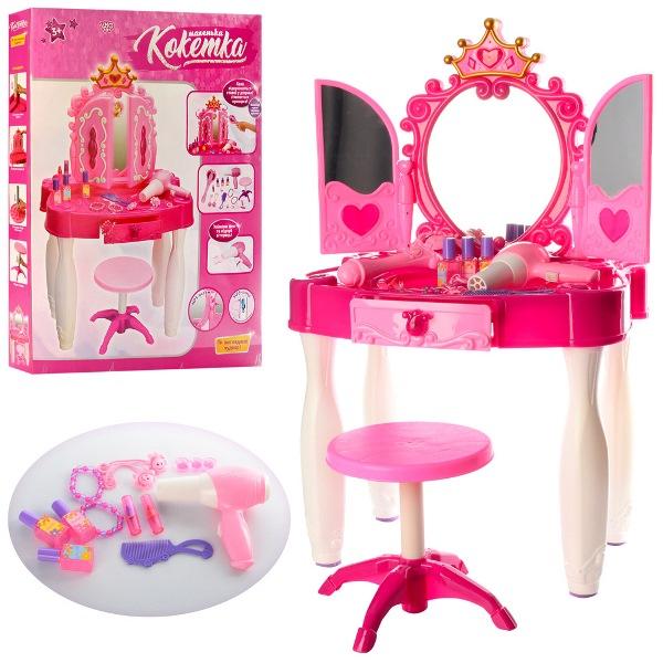Дитяче музичне трюмо для дівчаток Маленька кокетка 661-21 - mpl 661-21