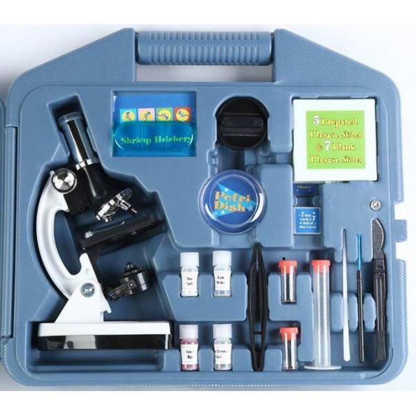 Микроскоп ученический 28 предметов фото