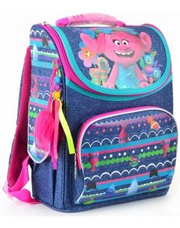 Рюкзак шкільний каркасний 1 Вересня H-11 Trolls, 34х26х14 - poz 553405