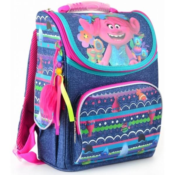 Рюкзак шкільний каркасний 1 Вересня H-11 Trolls фото