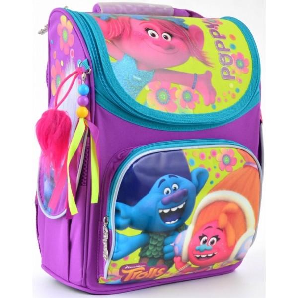 Рюкзак шкільний каркасний 1 Вересня H-11 Trolls - poz 553359