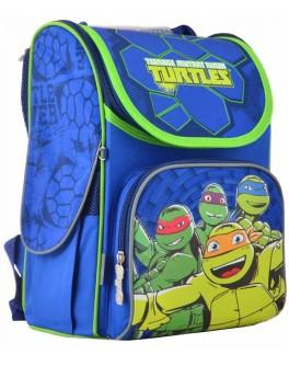 Рюкзак школьный каркасный 1 Вересня H-11 Turtles, 33.5х26х13.5 - poz 555120