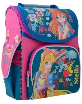 Рюкзак школьный каркасный 1 Вересня H-11 Winx mint, 33.5х26х13.5 - poz 555188