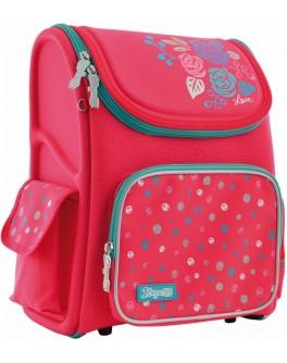 Рюкзак школьный каркасный 1 Вересня H-17 Lovely roses - poz 556331