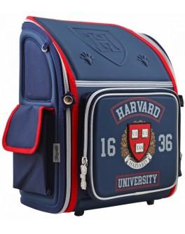 Рюкзак шкільний каркасний 1 Вересня H-18 Harvard, 35х28х14.5 - poz 555108