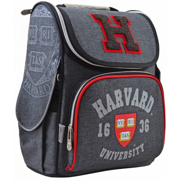 Рюкзак школьный каркасный 1 Вересня H-11 Harvard, 33.5х26х13.5