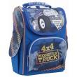 Рюкзак шкільний каркасний 1 Вересня H-11 Monster Truck, 34х26х14 - poz 553296