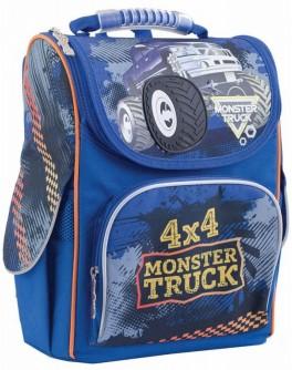 Рюкзак школьный каркасный 1 Вересня H-11 Monster Truck, 34х26х14 - poz 553296
