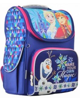 Рюкзак шкільний каркасний 1 Вересня H-11 Frozen blue, 33.5х26х13.5 - poz 555158