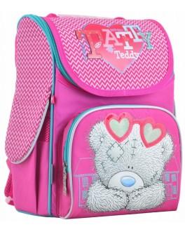 Рюкзак школьный каркасный 1 Вересня H-11 MTY rose, 33.5х26х13.5 - poz 555170