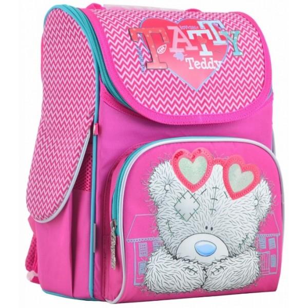 Рюкзак шкільний каркасний 1 Вересня H-11 MTY rose, 33.5х26х13.5 - poz 555170