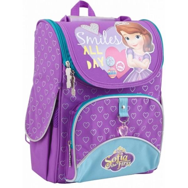 Рюкзак школьный каркасный 1 Вересня H-11 Sofia purple, 34х26х14