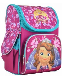 Рюкзак шкільний каркасний 1 Вересня H-11 Sofia rose, 33.5х26х13.5 - poz 555168