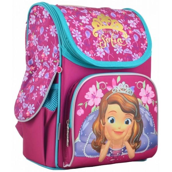 Рюкзак школьный каркасный 1 Вересня H-11 Sofia rose, 33.5х26х13.5