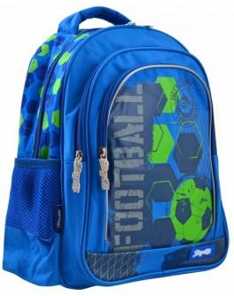 Рюкзак шкільний 1 Вересня S-22 Football - poz 556341