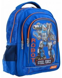 Рюкзак шкільний 1 Вересня S-22 Steel Force - poz 556345