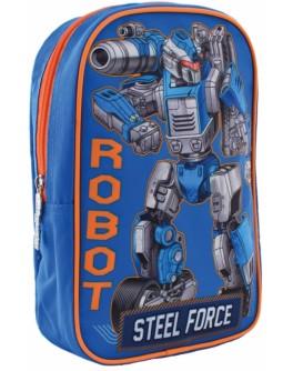 Рюкзак дитячий 1 Вересня K-18 Steel Force - poz 556427