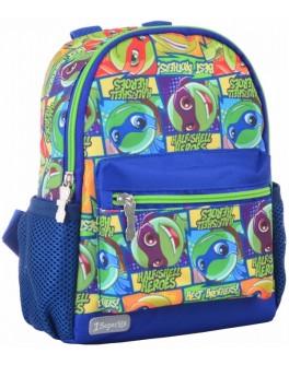 Рюкзак дитячий 1 Вересня K-16 Turtles, 22.5х18.5х9.5 - poz 554766