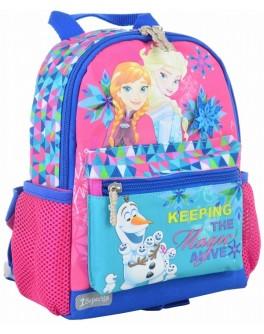 Рюкзак дитячий 1 Вересня K-16 Frozen, 22.5х18.5х9.5 - poz 554754
