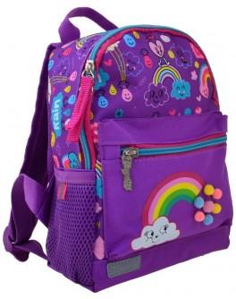 Рюкзак дитячий 1 Вересня K-16 Rainbow, 22.5х18.5х9.5 - poz 554762