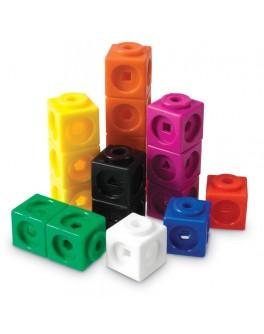 Математичні кубики, 100 шт. Mathlink® Learning Resources LER4285 - LER 4285