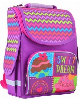 Рюкзак шкільний каркасний Smart PG-11 Sweet dream, 34х26х14 - poz 554466