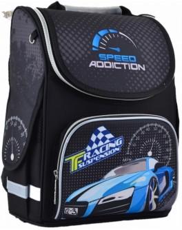 Рюкзак шкільний каркасний Smart PG-11 Speed addiction, 34х26х14 - poz 554529