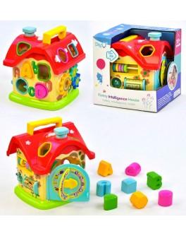 Розвиваюча іграшка Будиночок сортер WD 3611 - igs WD 3611