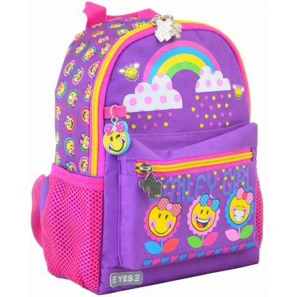 Рюкзак дитячий YES K-16 Smile, 22.5х18.5х9.5 - poz 554756