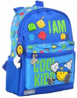Рюкзак дитячий YES K-16 Cool kids, 22.5х18.5х9.5 - poz 555072