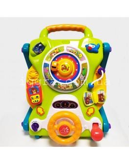 Розвиваючий центр Hola Toys Ходунки на колесах (2107) - igs 2107