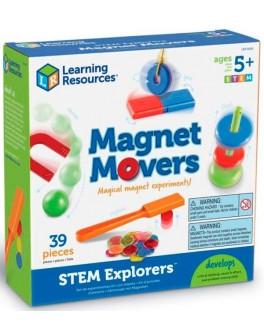 Навчальний Набір Експерименти з магнітами Learning Resources LER9295 - KDS LER9295