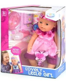 Пупс функциональный Warm baby 8040-471 (кушает, пьет, ходит на горшок, плачет) - igs 8040-471