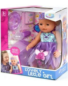 Пупс функциональный Warm baby 8040-470 (кушает, пьет, ходит на горшок, плачет) - igs 8040-470