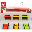 Дерев'яна іграшка Швидкісний спуск - гоночний трек з гаражем Top Bright 120402 - top b 120402